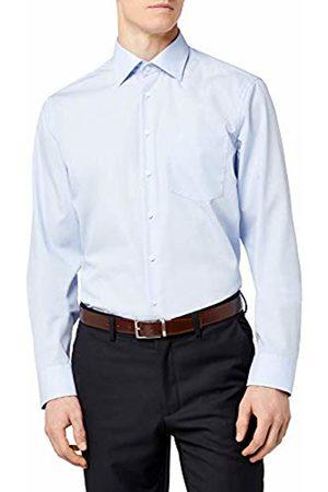 Seidensticker Men's Classic Long Sleeve Shirt - (11 Millraye hellblau) - 40 cm