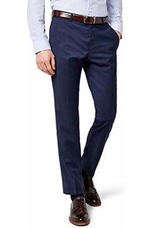 Bugatti Men's 788300-99801 Suit Trousers - Blue - W48
