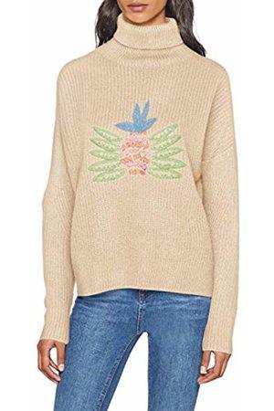 Pepa Loves Women's Pineapple EMB.Sweater Jumper, 0