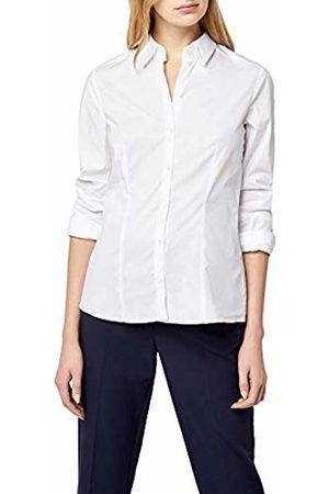 Seidensticker Women's Long - regular Blouse - - Weiß (01) - 20 (Brand size: 46)