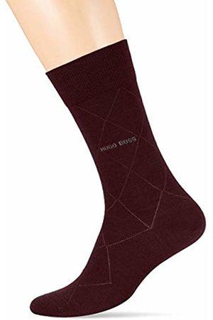 HUGO BOSS Men's John Rs Colours Wo Calf Socks, (Dark 602)