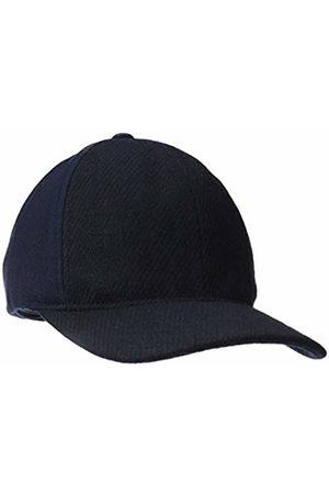 Kangol Hats - Textured Wool Baseball Cap, Navy