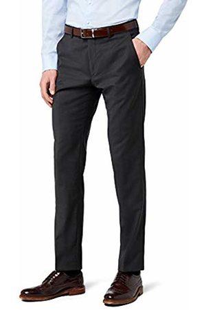 Bugatti Men's 788300-99801 Suit Trousers - Grey - W48