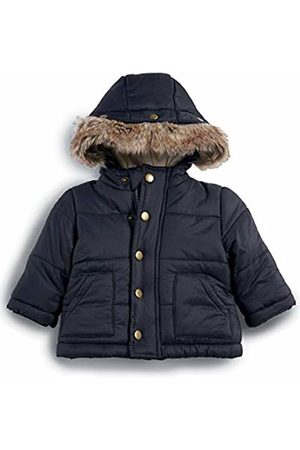 Mamas & Papas Mamas and Papas Baby Boys' Faux Fur Trim Coat