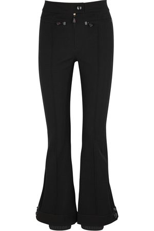Moncler Flared Stretch-twill Trousers