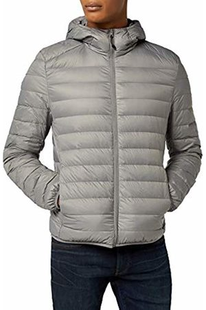 Urban classics Men's Basic Hooded Down Jacket