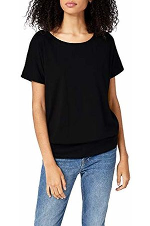 Intimuse Women's Short Sleeve T-Shirt – Loose Fit Top with Wide Neckline