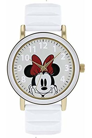 Disney Minnie Mouse Womens Analogue Classic Quartz Watch with Rubber Strap MN9014