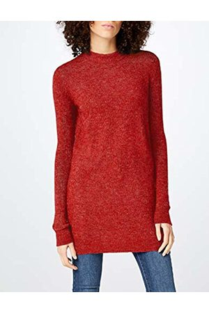 Pieces Women's Pcjane Ls Long Wool Knit Noos Jumper