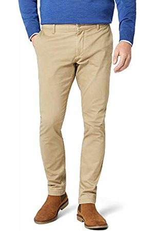 Dockers Men's Washed Khaki Skinny-Stretch Twill Trouser, British 0000