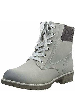 Jana Women's 8-8-26214-21 Combat Boots, (Lt 204)