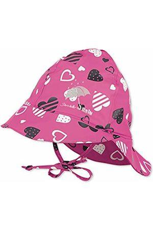 Sterntaler Baby Hats - Baby Girls' Regenhut M. Nackenschutz Hat