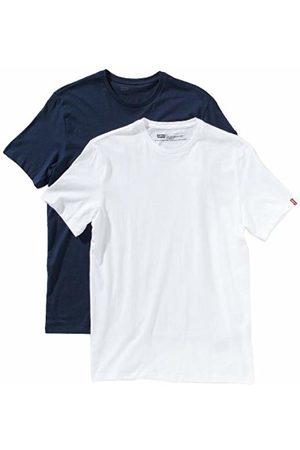 Levi's Men's 2 Pack Crew Short Sleeve T-Shirt