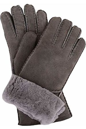 Snugrugs Women's Vicky, Sheepskin Glove with Fold Back Cuff Scarf