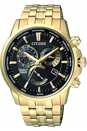 Citizen Watch Mens Multi dial Solar Powered Watch with Stainless Steel Strap BL8142-84E