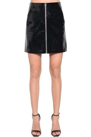 RAG&BONE High Waist Patent Leather Mini Skirt