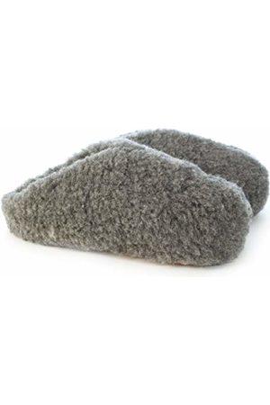 Woolsies Hedgehog Natural Wool Mule Slippers, Unisex Adults' Open Back Slippers