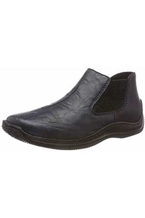 Rieker Women's L1793 Chelsea Boots, Pazifik/Schwarz 15