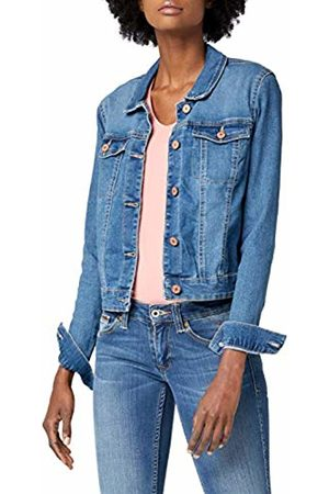 Noisy May Women's NMDEBRA LS DENIM JACKET NOOS Jacket