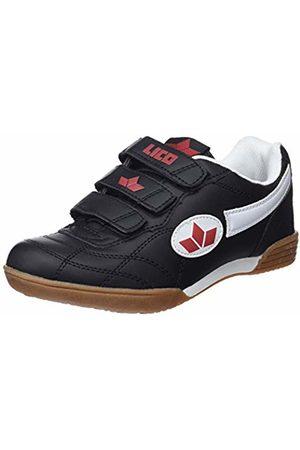 LICO Bernie V, Unisex Kid's Fitness Shoes, (Schwarz/Weiss/Rot)