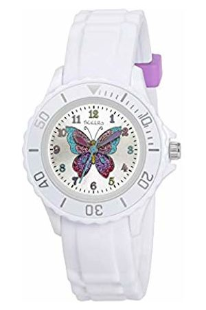 Tikkers Girls' Analogue Quartz Watch with Rubber Strap – TK0052