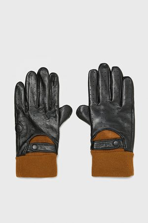 Zara LEATHER DRIVING GLOVES