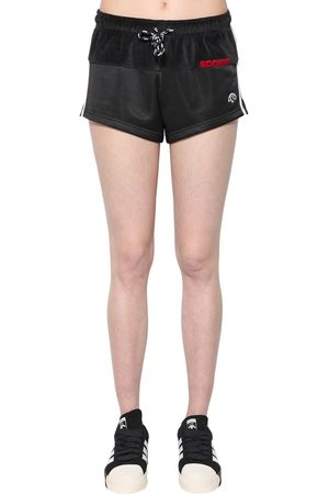 adidas Women Trousers - Velvet & Tech Shorts