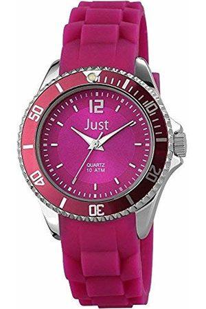 Just Watches Ladies 'Watch XS Analogue Quartz Rubber ~ 48 S3861 DPR