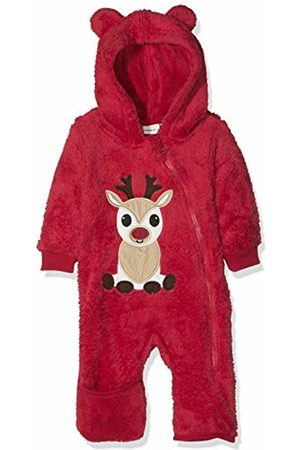 Name it Baby Nbnrudo Ls Suit W/Turn Up Feet Snowsuit, (Jester Dawn )