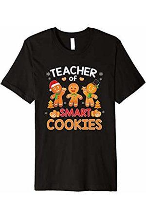 Christmas Xmas Family Apparel Gift T-Shirt Teacher of Smart Cookies Teaching Christmas Pajamas Shirt