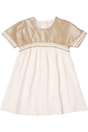 Chloé Lurex Viscose Crepe Party Dress