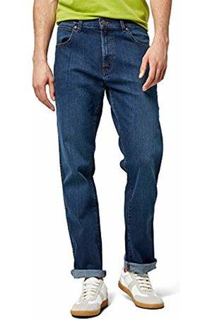 Wrangler Men's Texas Stretch Straight Jeans, Classic Blues