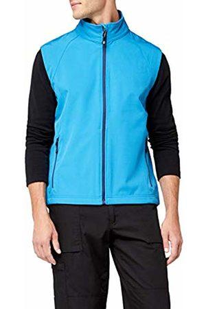 James & Nicholson Men's Softshellweste Jacket, -Azur