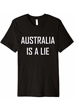 Free The Truth Shirts and Gear Australia Is A Lie T-shirt Conspiracy Hidden Cover Up Gift