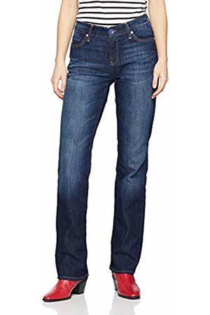 Mavi Women's Mona Straight Jeans (dark edge str* 17382)- W34/L34