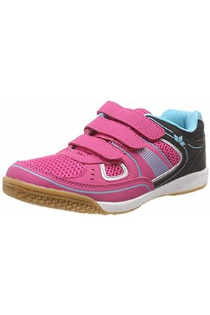LICO Girls' Recent Kids V Multisport Indoor Shoes, /Schwarz/Tuerkis