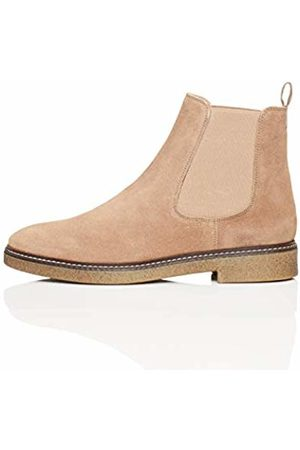 find. Chunky Gumsole Chelsea Boots, Taupe