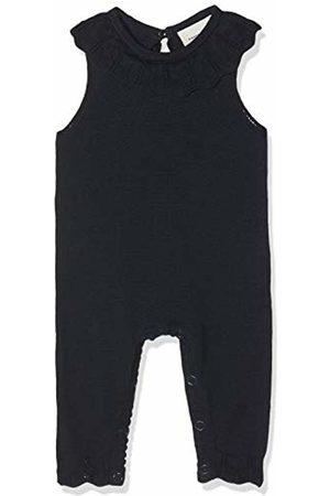 Name it Baby Rompers - Baby Girls' Nbfrain Sl Knit Suit Romper, Dark Sapphire