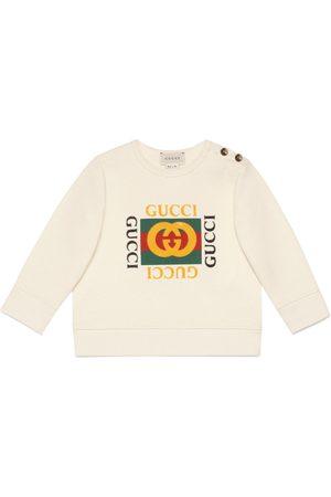 Gucci Baby Sweatshirts - Baby sweatshirt with logo