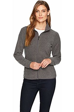 Amazon Essentials Womens Full-Zip Polar Fleece Jacket, Charcoal Heather