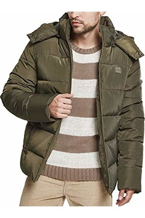 Urban classics Men's Hooded Puffer Jacket