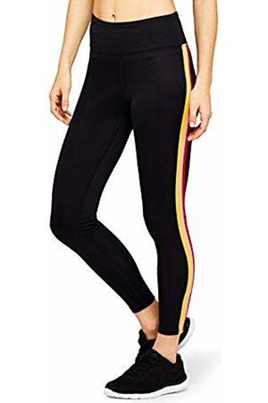 AURIQUE Rainbow Side Stripe Sports Tights