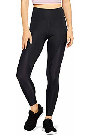 AURIQUE Panel Sports Tights, High Shine