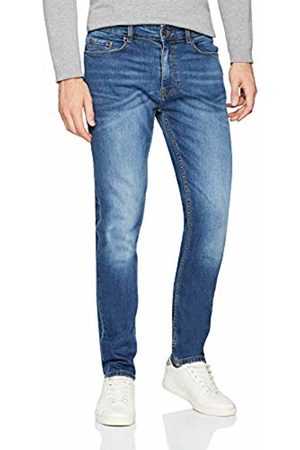 Burton Men's Mid Wash Carter Tapered Fit Jeans