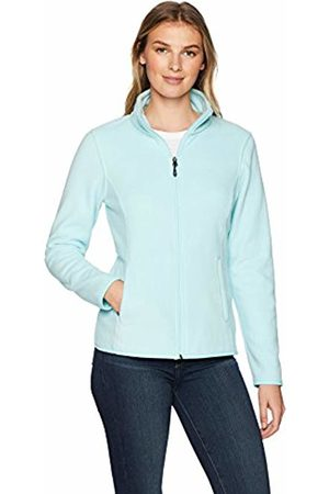 Amazon Essentials Women's Standard Full-Zip Polar Fleece Jacket, Aqua