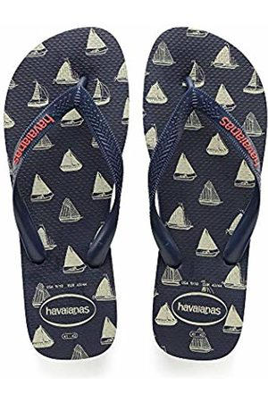 Havaianas Unisex Adults' Top Nautical Flip Flops, Navy 4368