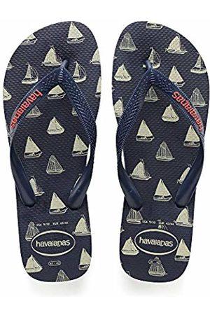 Havaianas Unisex Adults' Top Nautical Flip Flops, Navy 4368
