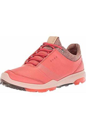 Ecco Women's Biom Hybrid 3 Gore-Tex Golf Shoe, Spiced Coral