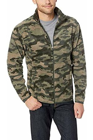 Amazon Essentials Men's Full-Zip Polar Fleece Jacket, Camo