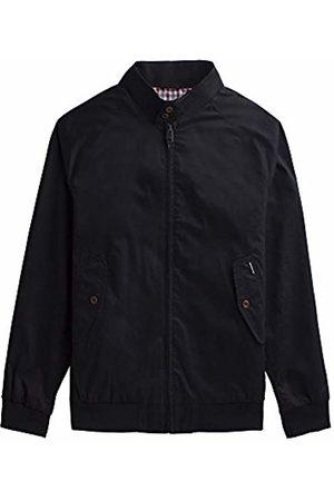 Ben Sherman Men's New Core Harrington Jacket (Jet B31)